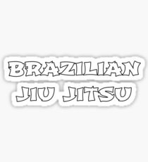 Brazilian Jiu-jitsu Sticker
