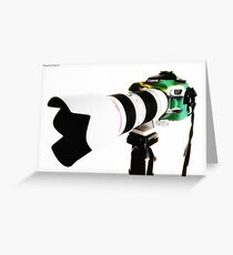 Canon 70d 01 Greeting Card