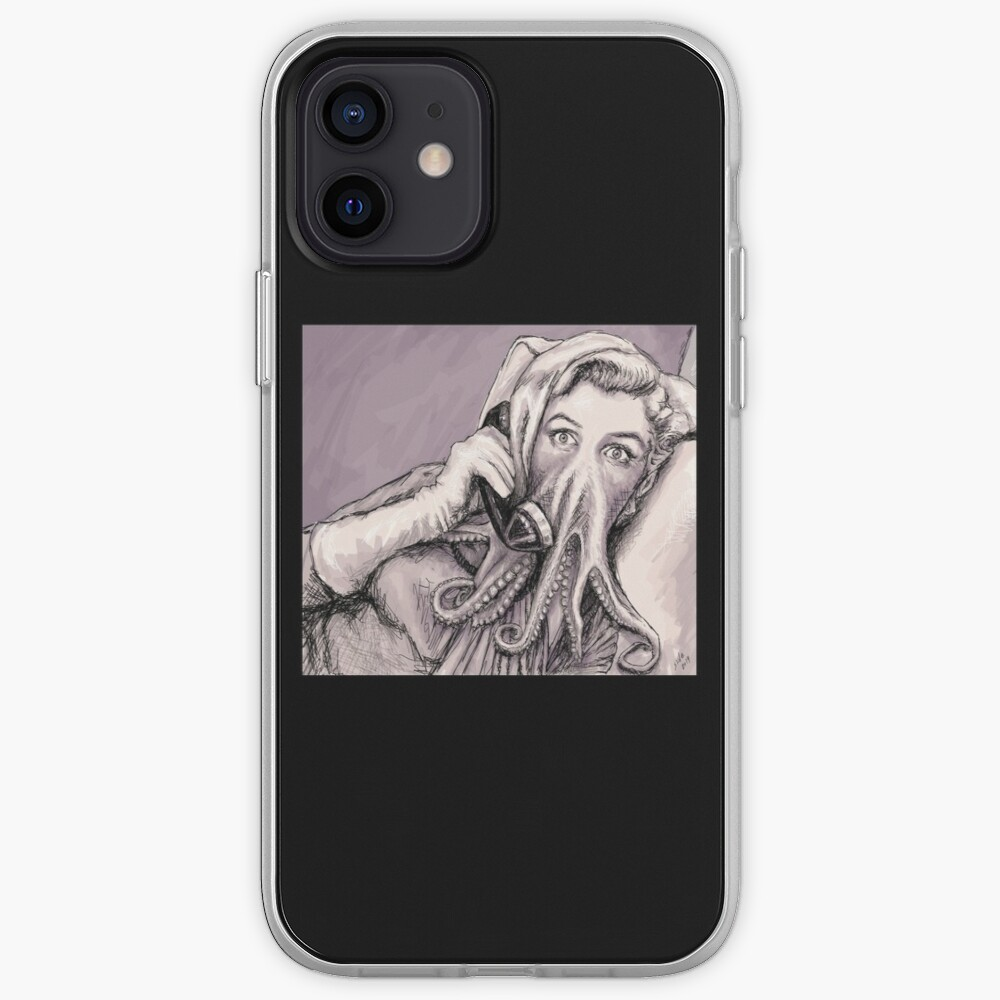 Phone Call of Cthulyn iPhone Case & Cover