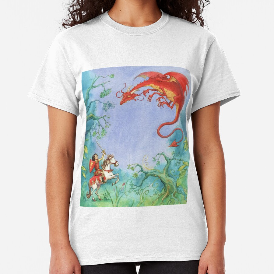 Knights and Dragons Classic T-Shirt