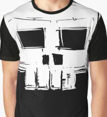 Square Skull Graphic T-Shirt