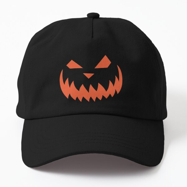 Sinister Face Jack O Lantern  Dad Hat