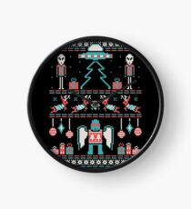 Paranormal Sweater Party Clock