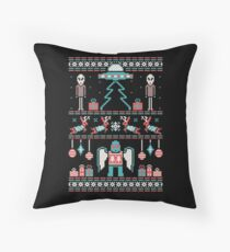 Paranormal Sweater Party Throw Pillow
