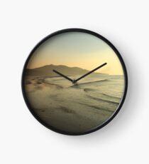 Lisfannon Beach Sunset Clock