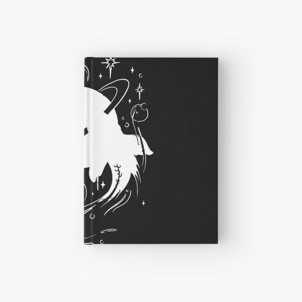White Ornate Koi Hardcover Journal