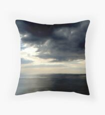 Atlantic view... Throw Pillow
