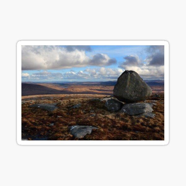 Crockfadda Mountain Sticker