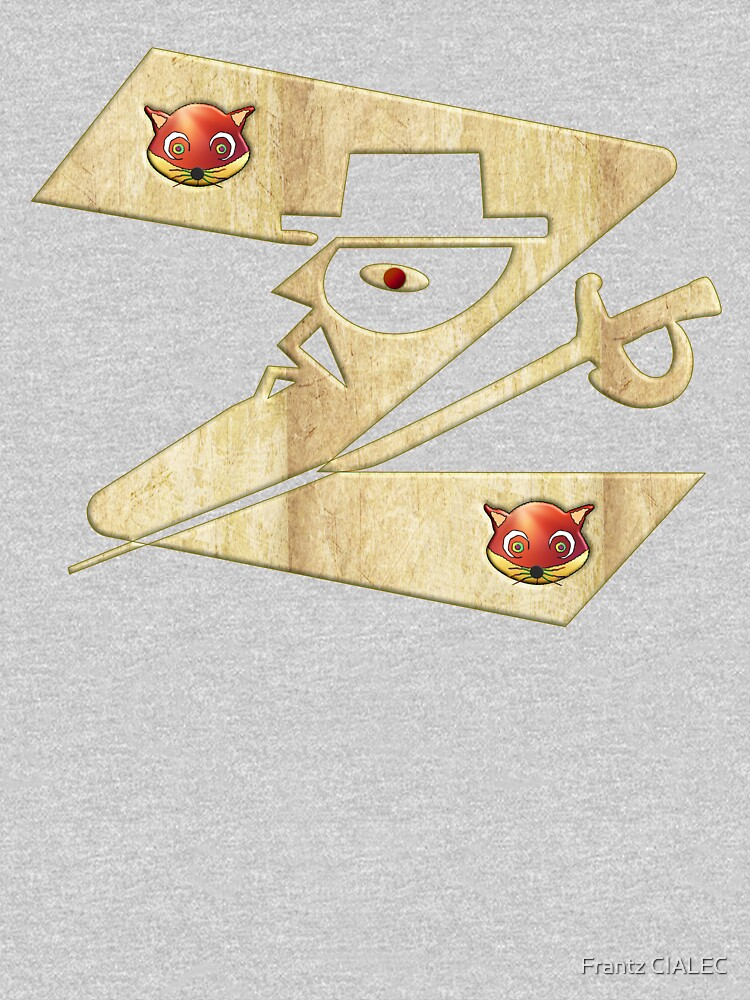 In the name of Zorro - Zorro is cheeky like a fox - Z like Zorro with his famous sword2! by Ralek