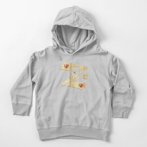 In the name of Zorro - Zorro is cheeky like a fox - Z like Zorro with his famous sword2! Toddler Pullover Hoodie