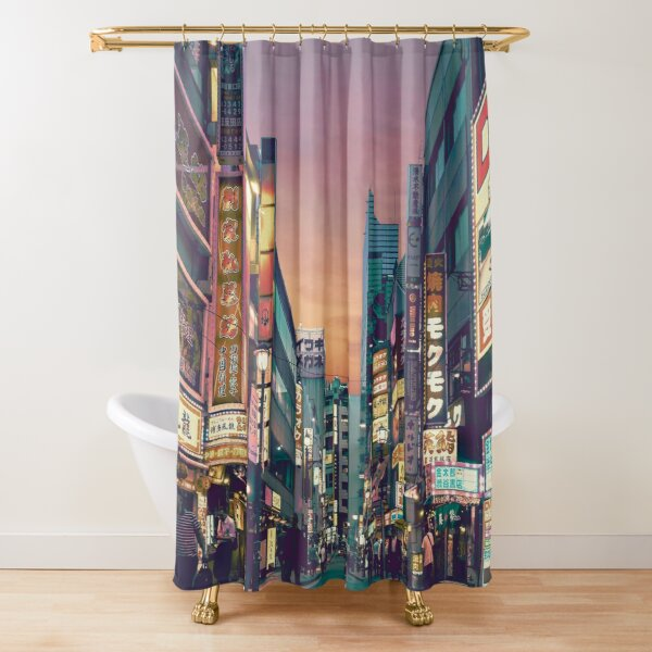 Tokyo   Japan - A Fascinating Culture Shower Curtain