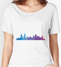 Chicago skyline  Women's Relaxed Fit T-Shirt