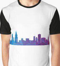 Chicago skyline  Graphic T-Shirt