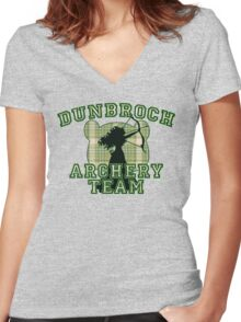 DunBroch Archery Team Women's Fitted V-Neck T-Shirt