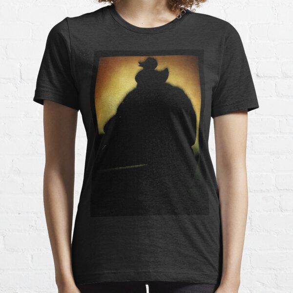 QUIETSCHEENTE AUF DEM KOPF EINES MANNES IN DER BADEWANNE // Science Fiction Kultfilme Fortsetzung // Fuzzy Gold Variante Essential T-Shirt