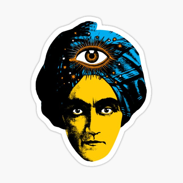 The all seeing eye Sticker