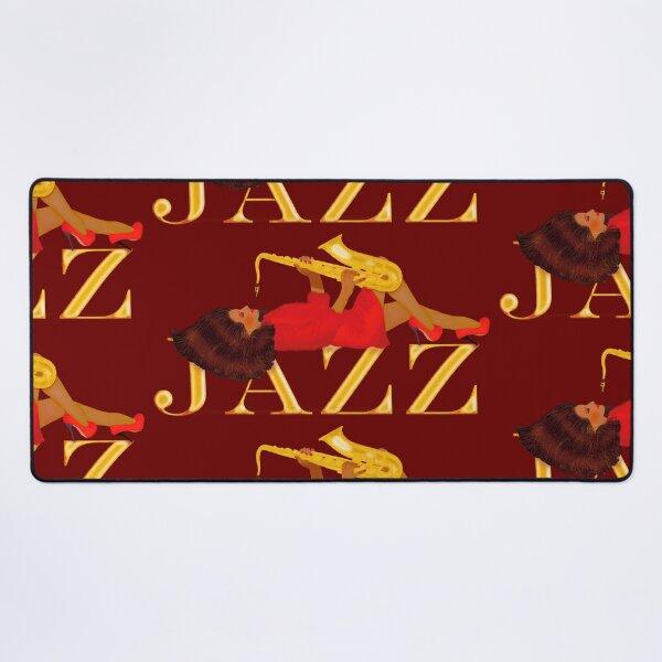 La chica del jazz 2 Alfombrilla de escritorio