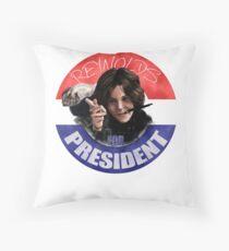 Allison for President  Throw Pillow