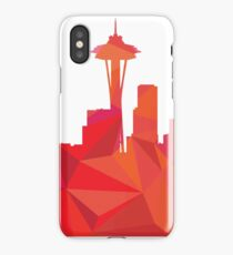 Seattle skyline  iPhone Case/Skin