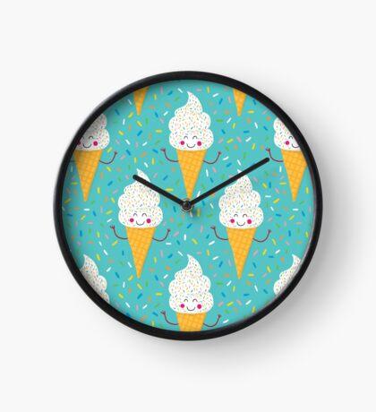 Ice Cream Party Clock