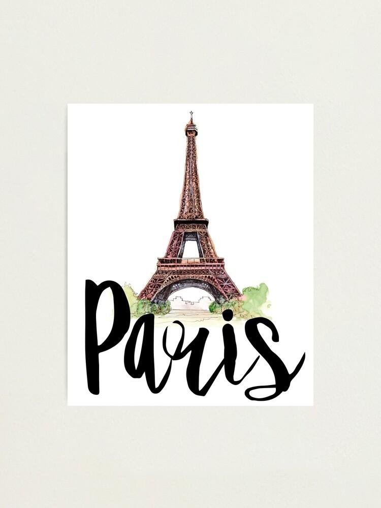 Alternate view of Paris Photographic Print