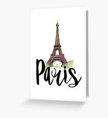 Tarjeta de felicitación Paris
