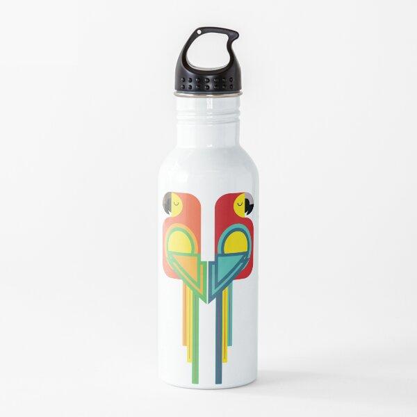 Macaw bird geometrical pattern Water Bottle