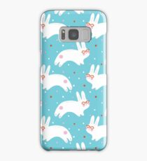 Bunnies with Glasses Samsung Galaxy Case/Skin