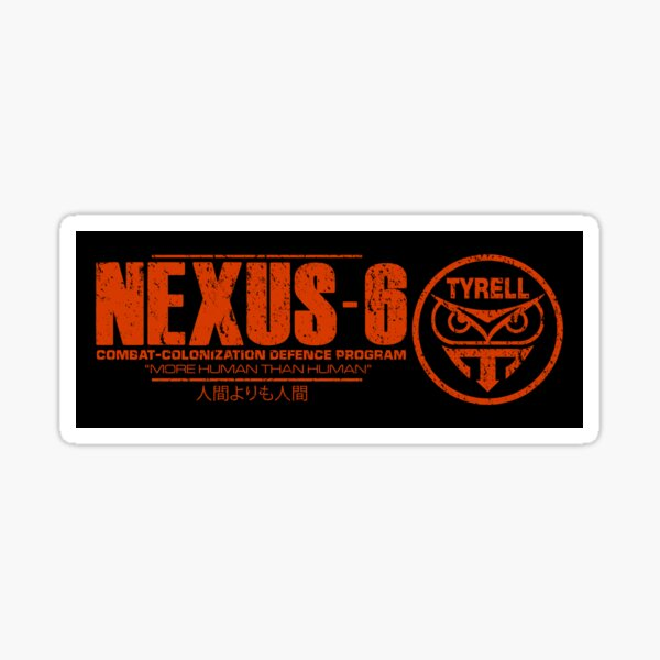 Nexus 6 - Blade Runner - Roy Batty Sticker