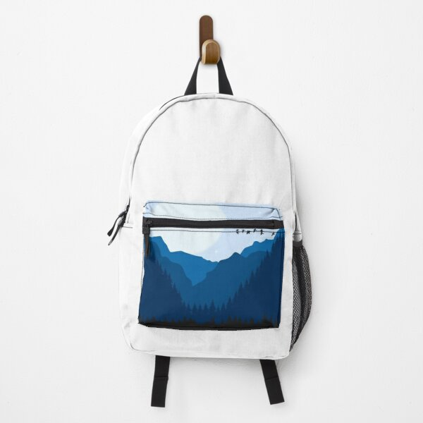 Blue Forest and Wildlife Backpack