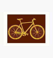 Fixie Bike Bling Art Print