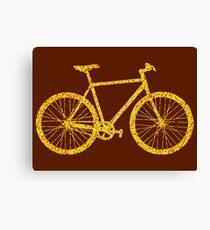 Fixie Bike Bling Canvas Print