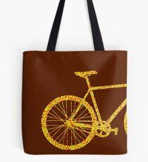 Fixie Bike Bling Tote Bag