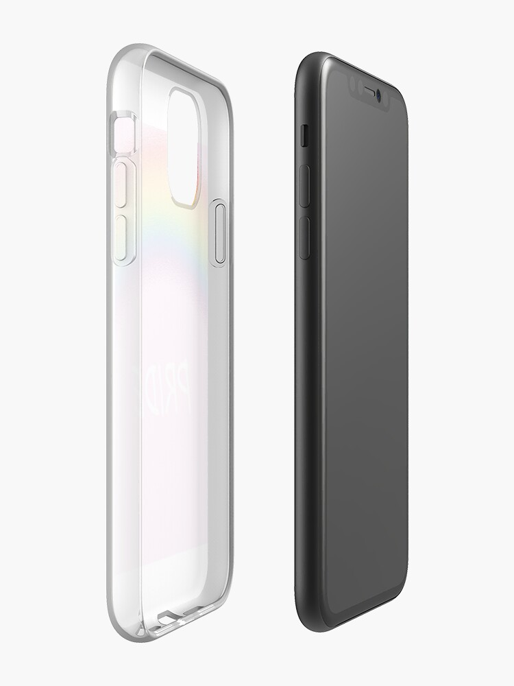 Coque iPhone « Fierté - demi-cercle », par CRNSM71