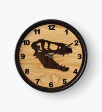 Hölzerne Dinosaurier Uhr Uhr