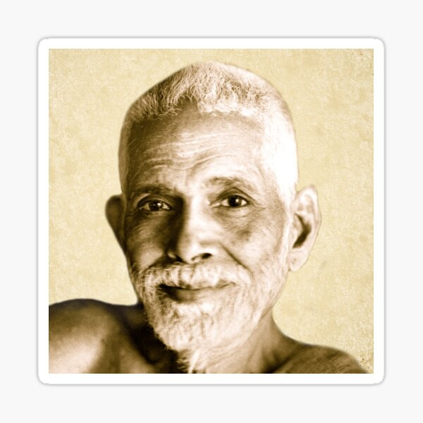 Ramana Maharshi Reminder Sticker
