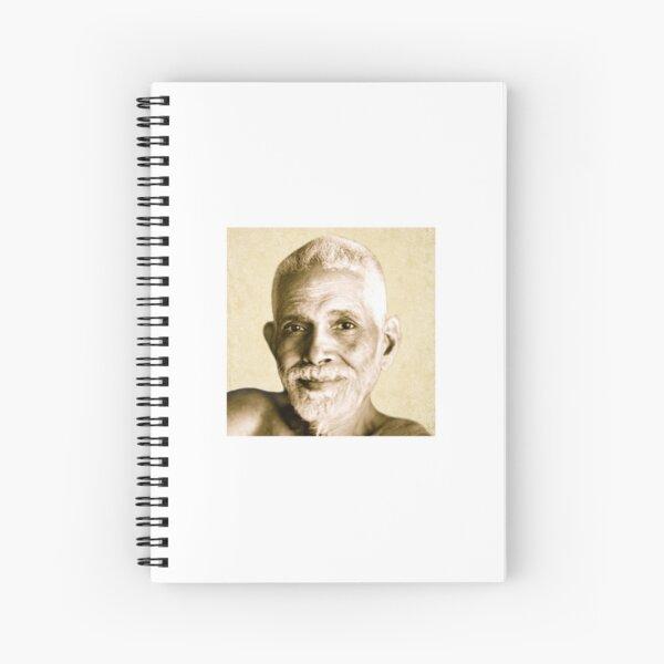 Ramana Maharshi Reminder Spiral Notebook
