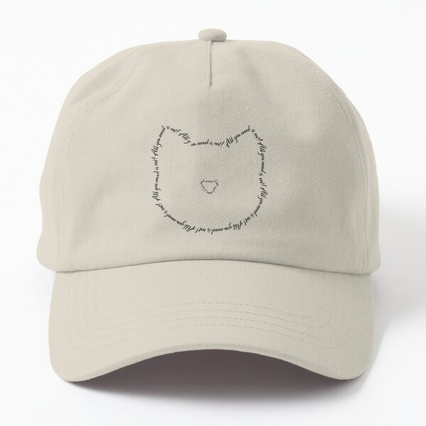 All you need is cat! Dad Hat