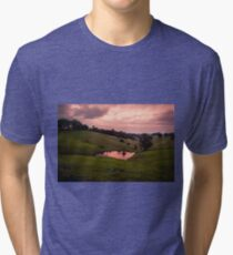 Sunsets in the water Tri-blend T-Shirt