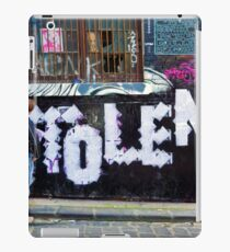Stolen graffiti - Melbourne Australia iPad Case/Skin