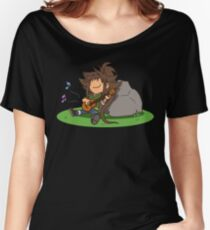 OC - Relaxing tune Women's Relaxed Fit T-Shirt