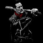 You got red on you by negan