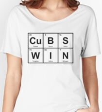 CuBS WIN Women's Relaxed Fit T-Shirt