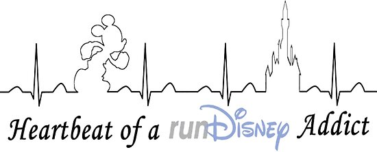 """Heartbeat of runDisney addict"" Posters by Rundisneyjennie ..."