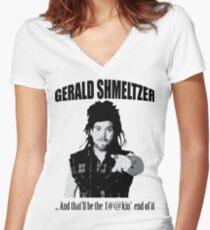 Gerald Shmeltzer Women's Fitted V-Neck T-Shirt