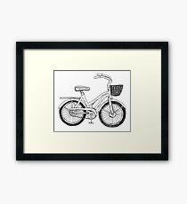 Beach Cruiser Art Framed Print