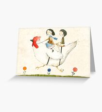 Travelling Greeting Card