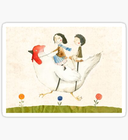 Travelling Sticker