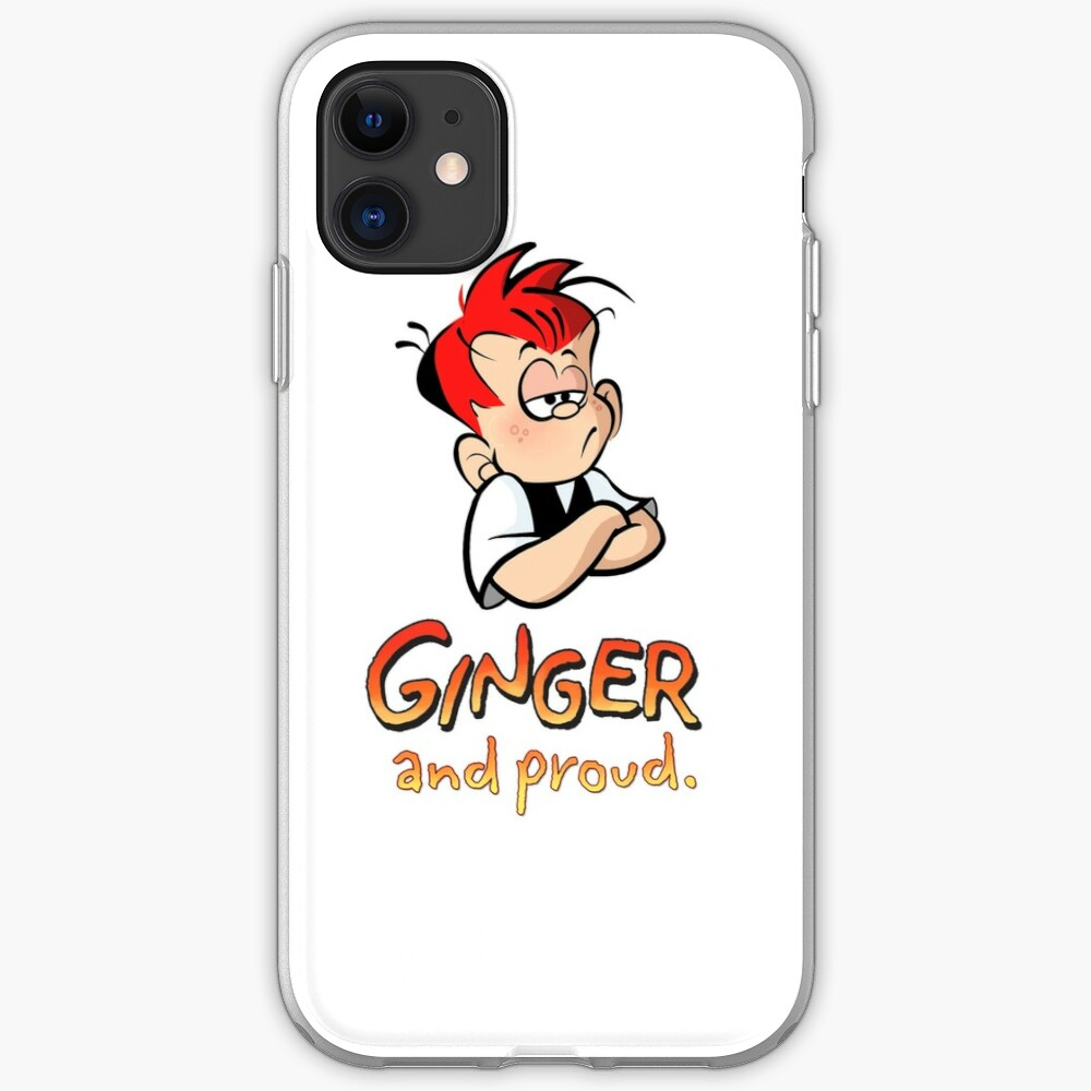Ginger and Proud (Most Popular!) iPhone Case & Cover