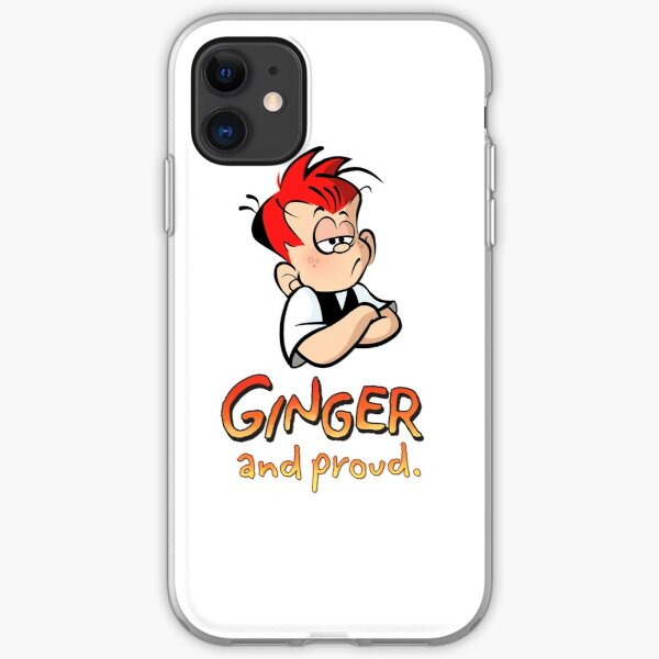 Ginger and Proud (Most Popular!) iPhone Soft Case